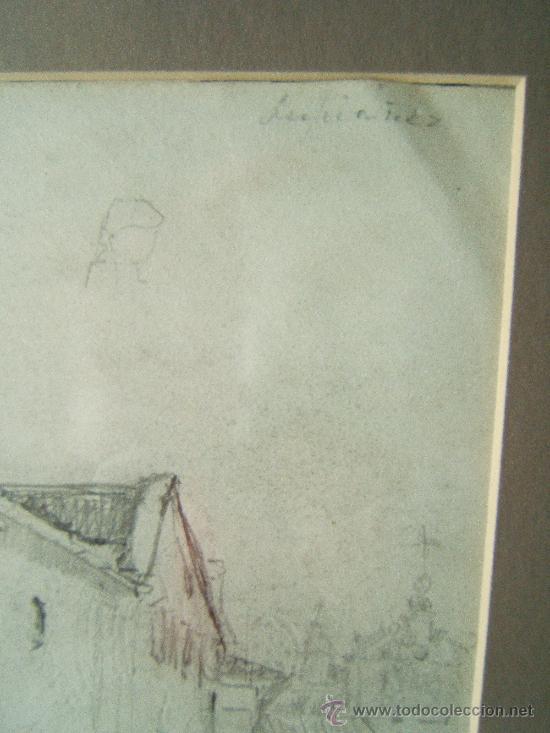 Arte: PINTURA. DIBUJOS LAPIZ O CARBONCILLO - JOSE LUPIAÑEZ Y CARRASCO - (1864-1938 MALAGA) - 1880/1890 ?. - Foto 2 - 36555367