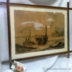 Arte: F. MORELL Y FORTUNY, 1906.- DIBUJO FIRMADO Y FECHADO.. Lote 36580483