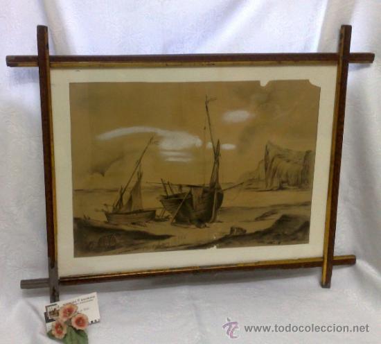 Arte: F. MORELL Y FORTUNY, 1906.- DIBUJO FIRMADO Y FECHADO. - Foto 6 - 36580483