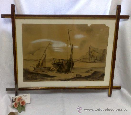 Arte: F. MORELL Y FORTUNY, 1906.- DIBUJO FIRMADO Y FECHADO. - Foto 2 - 36580483