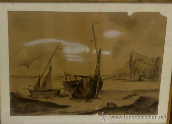 Arte: F. MORELL Y FORTUNY, 1906.- DIBUJO FIRMADO Y FECHADO. - Foto 7 - 36580483