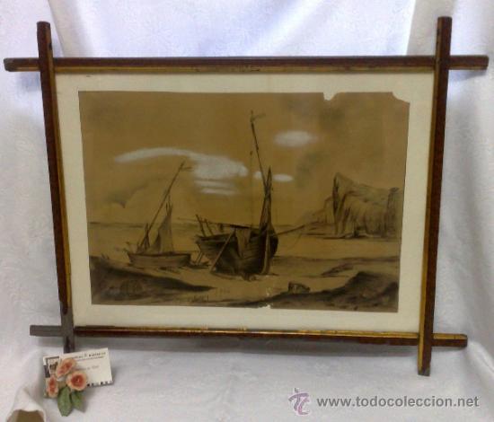 Arte: F. MORELL Y FORTUNY, 1906.- DIBUJO FIRMADO Y FECHADO. - Foto 22 - 36580483