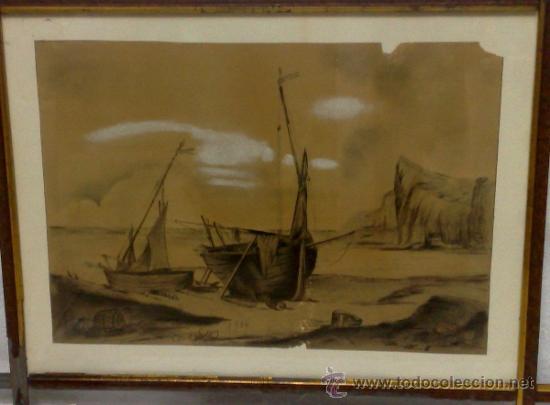 Arte: F. MORELL Y FORTUNY, 1906.- DIBUJO FIRMADO Y FECHADO. - Foto 3 - 36580483