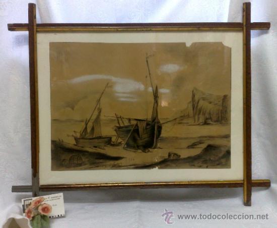 Arte: F. MORELL Y FORTUNY, 1906.- DIBUJO FIRMADO Y FECHADO. - Foto 4 - 36580483