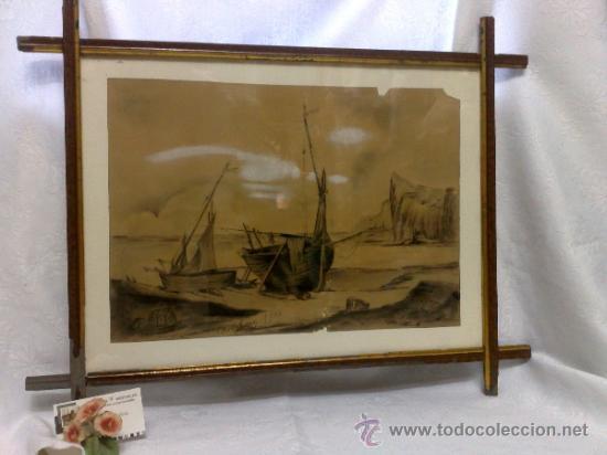Arte: F. MORELL Y FORTUNY, 1906.- DIBUJO FIRMADO Y FECHADO. - Foto 25 - 36580483