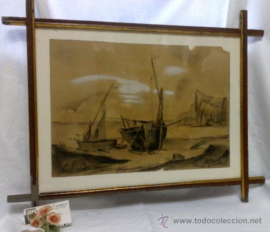 Arte: F. MORELL Y FORTUNY, 1906.- DIBUJO FIRMADO Y FECHADO. - Foto 16 - 36580483