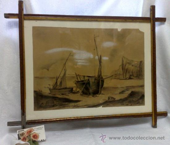 Arte: F. MORELL Y FORTUNY, 1906.- DIBUJO FIRMADO Y FECHADO. - Foto 11 - 36580483