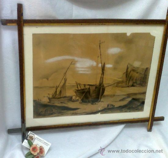 Arte: F. MORELL Y FORTUNY, 1906.- DIBUJO FIRMADO Y FECHADO. - Foto 15 - 36580483