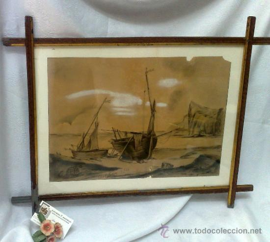 Arte: F. MORELL Y FORTUNY, 1906.- DIBUJO FIRMADO Y FECHADO. - Foto 23 - 36580483