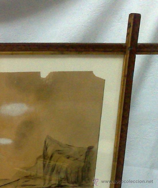 Arte: F. MORELL Y FORTUNY, 1906.- DIBUJO FIRMADO Y FECHADO. - Foto 12 - 36580483