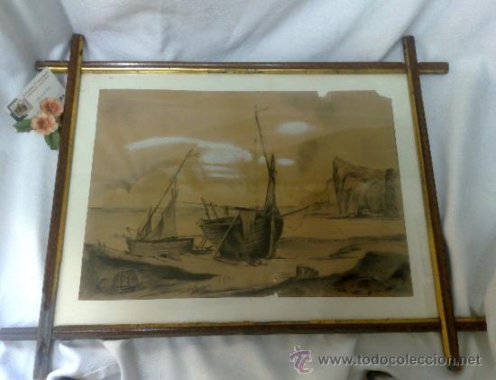 Arte: F. MORELL Y FORTUNY, 1906.- DIBUJO FIRMADO Y FECHADO. - Foto 24 - 36580483
