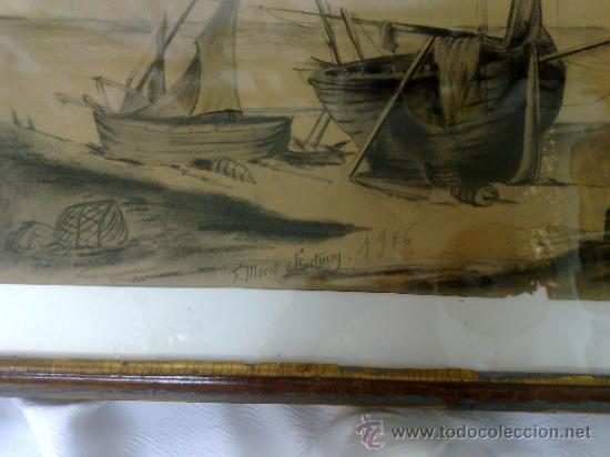 Arte: F. MORELL Y FORTUNY, 1906.- DIBUJO FIRMADO Y FECHADO. - Foto 10 - 36580483
