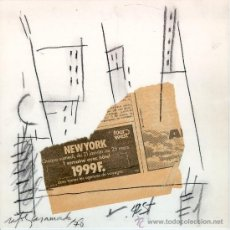 Arte: RAFOLS CASAMADA (1923-2009). COLLAGE DEL AÑO1978. Lote 36673270