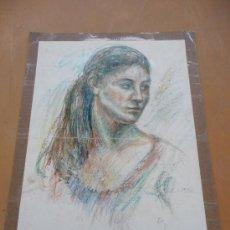 Arte: FIRMADO J. COSTA. TECNICA MIXTA SOBRE CARTULINA. . Lote 36695533