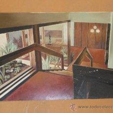 Arte: PROYECTO ART DECÓ. INTERIOR DE CASA. ANONIMO. . Lote 37126875