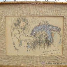 Arte: DIBUJO - FDO DRAPER - PERSONAJES. Lote 37348499