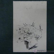Arte: RICARDO MARIN. ESCENA TAURINA.. Lote 37500378