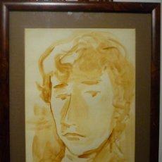 Arte: TRINIDAD SOTOS BAYARRI. DIBUJO. FIRMADO Y FECHADO 1954.. Lote 37547256