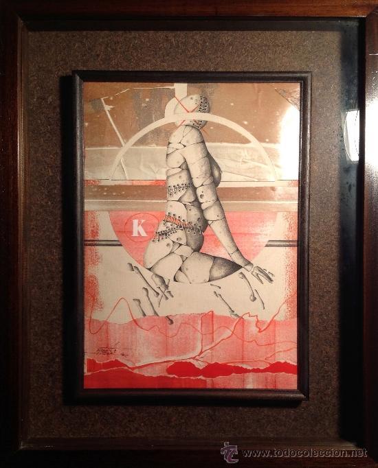 CUADRO DEL PINTOR RICARD JORDÀ (Arte - Dibujos - Contemporáneos siglo XX)