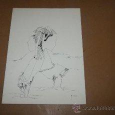 Arte: MARTA CABEZA. DIBUJO A TINTA, SURREALISTA. Lote 38170114