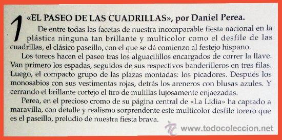 Arte: Explicación del dibujo en La Lidia. - Foto 8 - 34557276