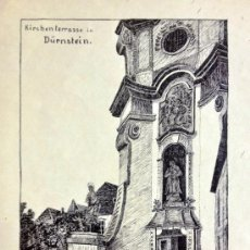 Arte: EXCELENTE DIBUJO A PLUMILLA, FIRMADO H. BLANK, EXTRAORDINARIA CALIDAD,ESCUELA ALEMANA. Lote 38352877