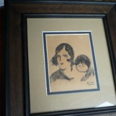 Arte: DIBUJO ROMAN BONET SINTES (BON) - BARCELONA 1886-1967. Lote 38415755