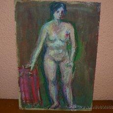 Arte: CERA - ANÓNIMO - DESNUDO FEMENINO. Lote 38599617