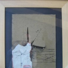 Arte - Mixta/cartón de Ceferino Moreno, título: Absurdo discontinuo, de 1962, medidas: 50x40 cm. - 38905551