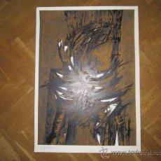 Arte: DIBUJO ABSTRACTO, CON FIRMA DEL AUTOR ILEGIBLE (1991) 67/90 MEDIDA: 70 X 50 CMS. Lote 39183515