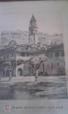 Arte: Preciosas pinturas de monumentos hechas a plumilla,con firma de la autora. Florin - Foto 2 - 39266523