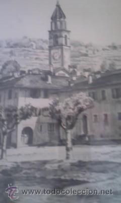 Arte: Preciosas pinturas de monumentos hechas a plumilla,con firma de la autora. Florin - Foto 3 - 39266523