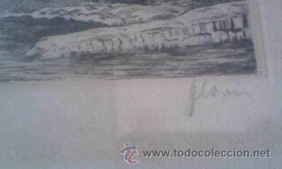 Arte: Preciosas pinturas de monumentos hechas a plumilla,con firma de la autora. Florin - Foto 5 - 39266523