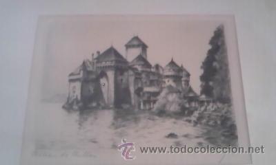 Arte: Preciosas pinturas de monumentos hechas a plumilla,con firma de la autora. Florin - Foto 2 - 39266566