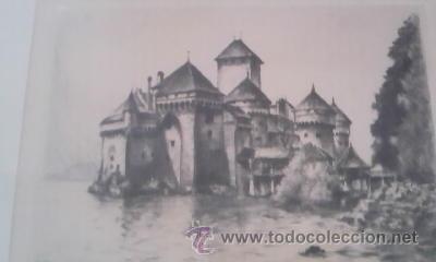 Arte: Preciosas pinturas de monumentos hechas a plumilla,con firma de la autora. Florin - Foto 4 - 39266566