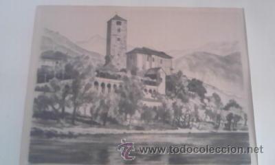 Arte: Preciosas pinturas de monumentos hechas a plumilla,con firma de la autora. Florin - Foto 8 - 39266566
