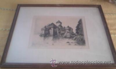 Arte: Preciosas pinturas de monumentos hechas a plumilla,con firma de la autora. Florin - Foto 9 - 39266566
