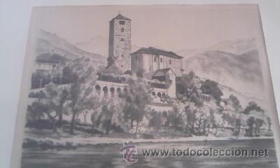 Arte: Preciosas pinturas de monumentos hechas a plumilla,con firma de la autora. Florin - Foto 12 - 39266566