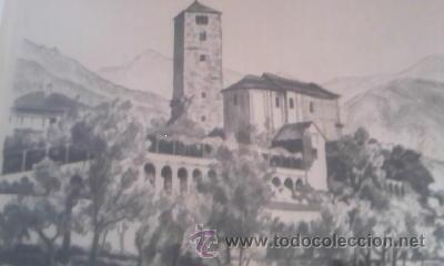 Arte: Preciosas pinturas de monumentos hechas a plumilla,con firma de la autora. Florin - Foto 13 - 39266566