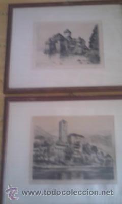 Arte: Preciosas pinturas de monumentos hechas a plumilla,con firma de la autora. Florin - Foto 14 - 39266566