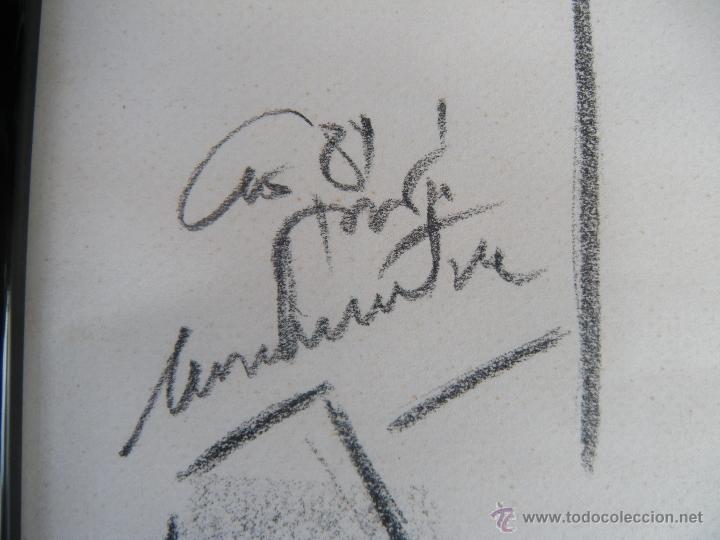 Arte: DIBUJO DE MUJER A CARBONCILLO. - Foto 6 - 39389388