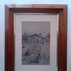 Arte: MASIA --- DIBUJO DE CARLOS PONS PUJOL. Lote 105376839