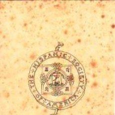 Arte: DIBUJO A PLUMILLA DEL ESCUDO DE LA 'HISPANIC SOCIETY OF AMERICA.CA.1900. 14 X 11 CM.SOBRE CARTULINA.. Lote 39994625