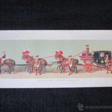 Arte: AÑO 1879 - COMITIVA REGIA EN EL CASAMIENTO DE ALFONSO XII. LITOGRAFÍA Nº25. Lote 40176843