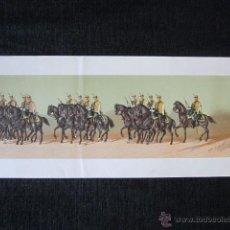 Arte: AÑO 1879 - COMITIVA REGIA EN EL CASAMIENTO DE ALFONSO XII. LITOGRAFÍA Nº63. Lote 40177976