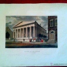 Arte: DIE BANK DER VER. STAATEN IN PHILADELPHIA. AUS DER KUNSTAMT DES BIBLIO INSTITUTS IN HILBURGHAUSEN. Lote 40380861