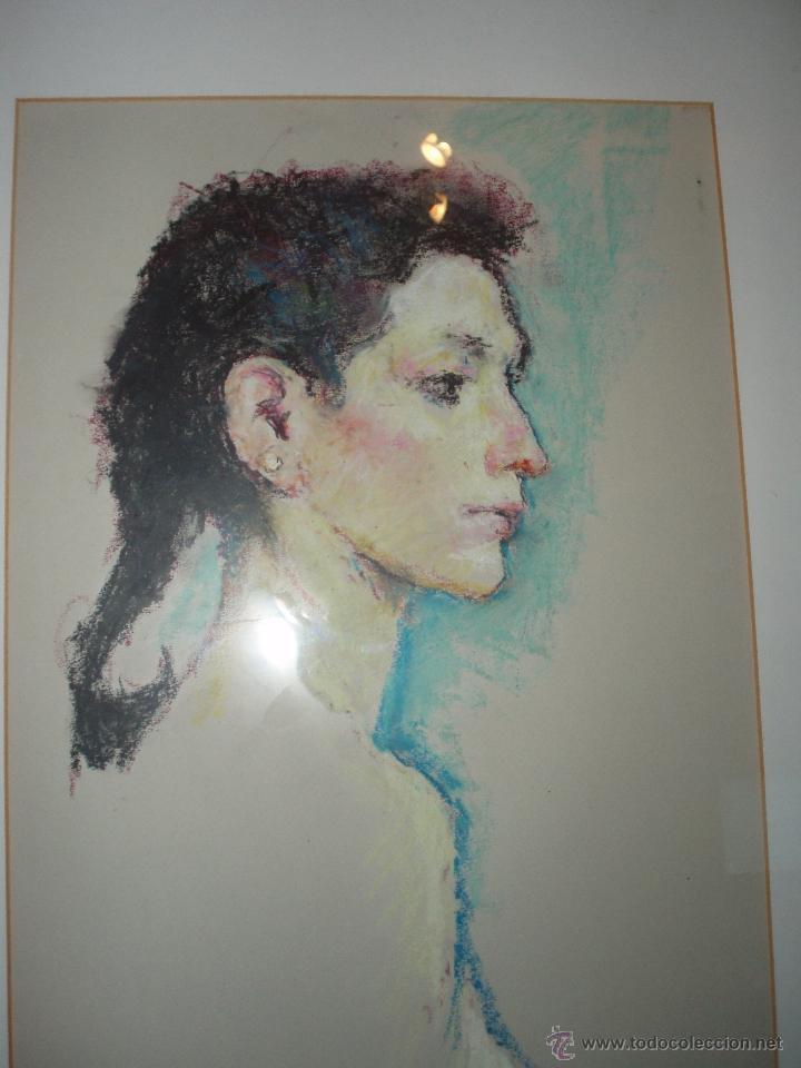 Arte: Dibujo de joven al pastel de Joan Palet - Foto 2 - 40381256