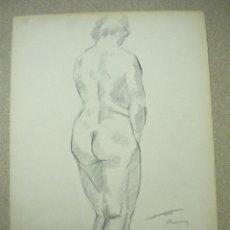 Arte: DIBUJO FIRMADO SALVADOR VIVÓ 1925.MEDIDA 35 X 50 CM. Lote 40533296