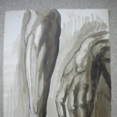 Arte: DIBUJO FIRMADO SALVADOR VIVÓ 1925,MEDIDA 24X31. Lote 40706583