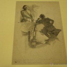 Arte: ILEGIBLE. ESCENA.. Lote 40976284